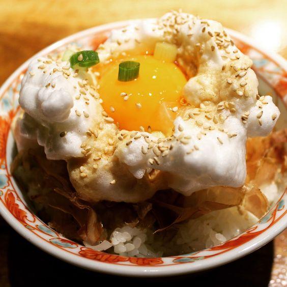Hina yakitori egg yolk via East Bay Dish blog