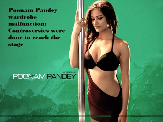 Poonam Pandey latest malfunction #bollywood #poonampandey Poonam Pandey wardrobe malfunction: Controversies were done to reach the stage