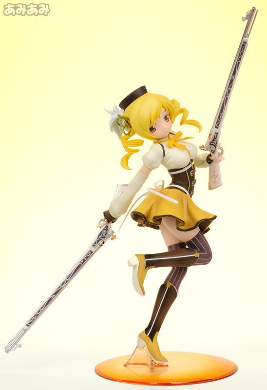 """Mami Tomoe. She was my favorite during the short amount of time she was in the series. The way she would make those muskets appear was just awesome. I just liked the idea of """"magical girls"""" fighting with real weapons instead of wielding magical attacks or scepters, it was a nice change of pace, and it made the series a lot more dark that I would have thought it would be."""