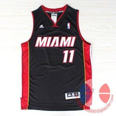 maillot basket nba Miami Heat Anderson #11 Noir Nuit latine nouveaux tissu 22.9€
