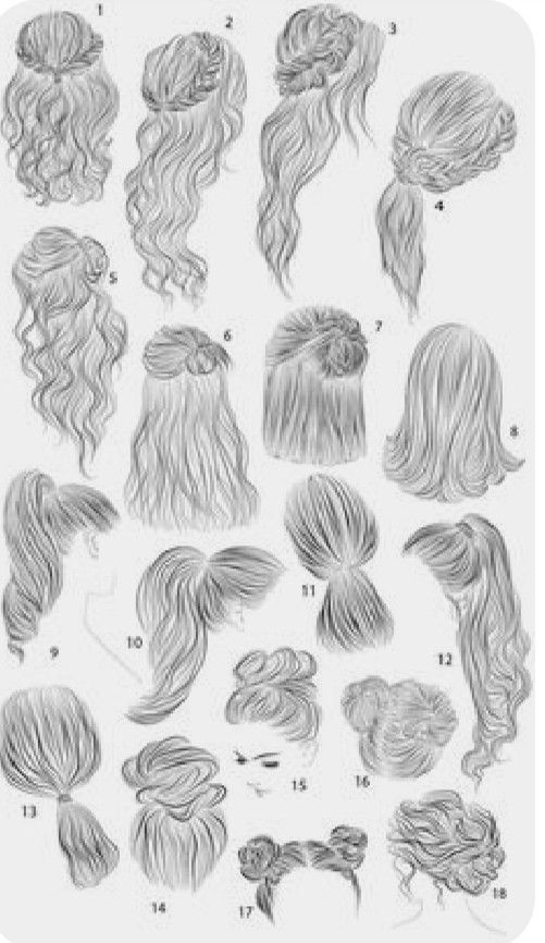 Easy Hairstyles For School In 2020 Drawing Hair Tutorial Long Hair Styles Men How To Draw Hair