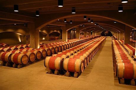 Robert Mondavi Winery Barrel Storage