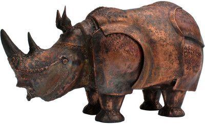 Large Hand Wrought Copper Rhino Box by Onik Agaronyan at 1stdibs: