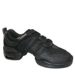 """Adult """"Tutto Nero"""" Dance Sneaker - Style No P22M"""