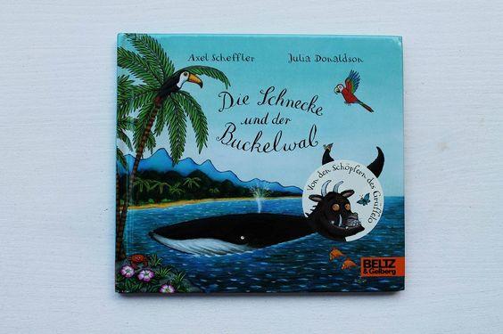 """Die Schnecke und der Buckelwal von den Autoren des """"Grüffelo""""! Wunderbar sehnsüchtig mit nachhaltigen Gedanken. Für Kinder ab 3."""