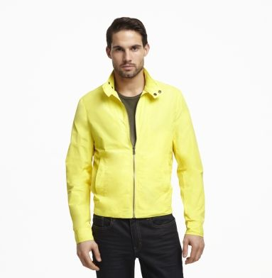 Mock-Neck Jacket. Kenneth Cole New York. - Yellow is definitely my color!
