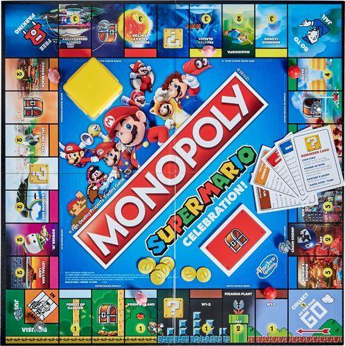 Hasbro Gaming Monopoly Super Mario Celebration E9517 Best Buy Super Mario Bros Games Super Mario Games Monopoly