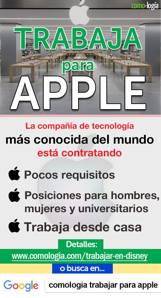 Cómo Trabajar En Apple 19 Posiciones Abiertas Cómo Postular Como Ganar Dinero Facil Como Ganar Dinero Como Ganar Dinero Extra