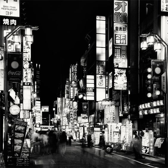"""Martin Stavars : """"Nightscapes – Tokyo"""" Series(Photography)"""
