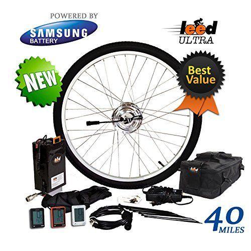 Electric Bike Conversion Kit Ultra 250 Li Ion 20 8 Ah Included