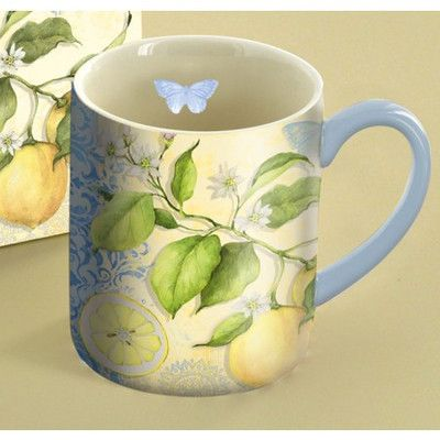 Lang 14 oz. Fresh Lemons Mug