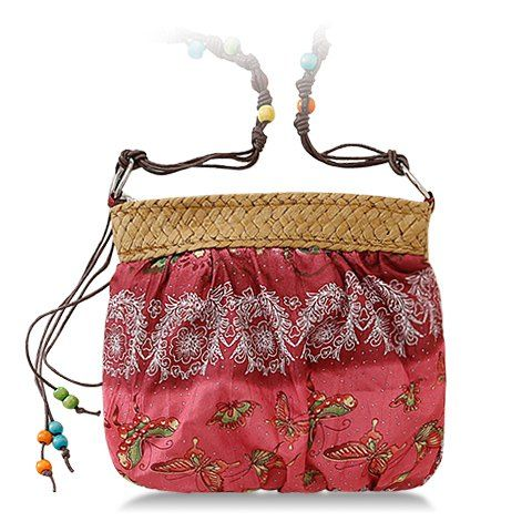 Floral Print Design Crossbody Bag For Women