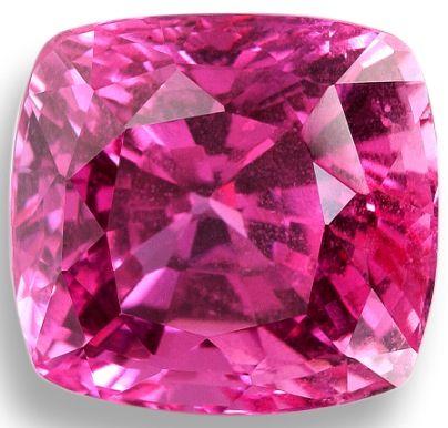 A pink sapphire.