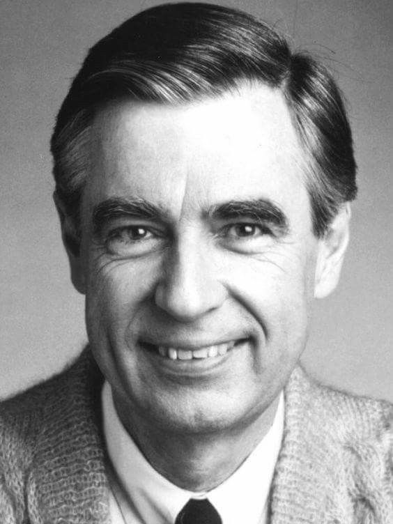 Fred Rogers Glad Mr Rogers Neighborhood Was On Tv For My Kids Fred Rogers Famous Faces Tv Icon