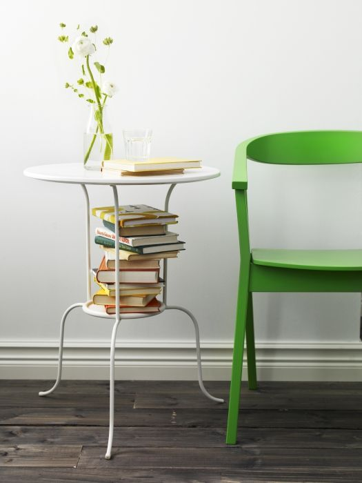 Ikea fan favorite lindved side table fans love this for Functional side table