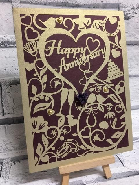 Stampin Up Card Ebay Anniversary Cards Handmade Stampin Up Valentine Cards Cricut Anniversary Card