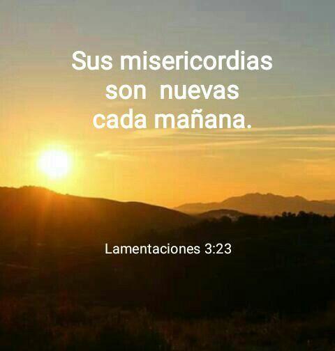 Sus Misericordias Son Nuevas Cada Mañana Versículos