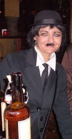 Charlie Chaplin. Easy to make fancy dress costume for men or women.