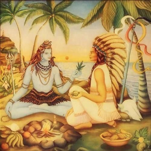 Image result for shiva and native american