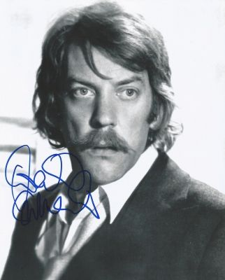 No one else looks like, sounds like, or acts like Donald Sutherland...except maybe his son, Kiefer. - Ronni