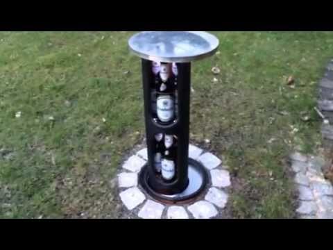 bier koeler in de tuin! (underground beer cooler)