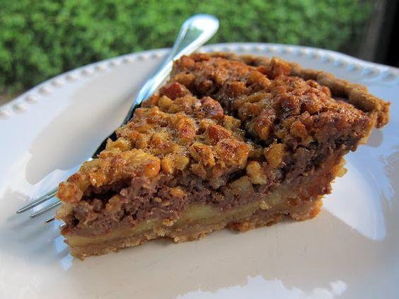 Chocolate Cheesecake Pecan Pie