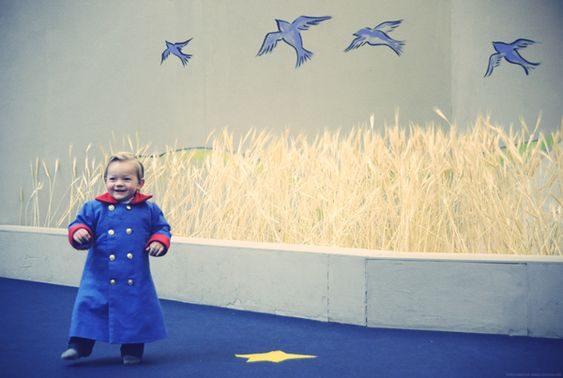 oh! can I dress my kid up as the little prince someday for halloween?
