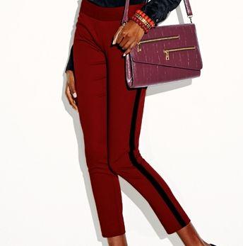 mark Fit Right In Skinny Pants & Push The Envelope Bag
