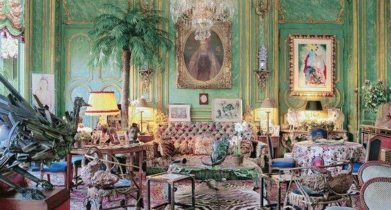 D'Ornano apartment in Paris, designed by Henri Samuel