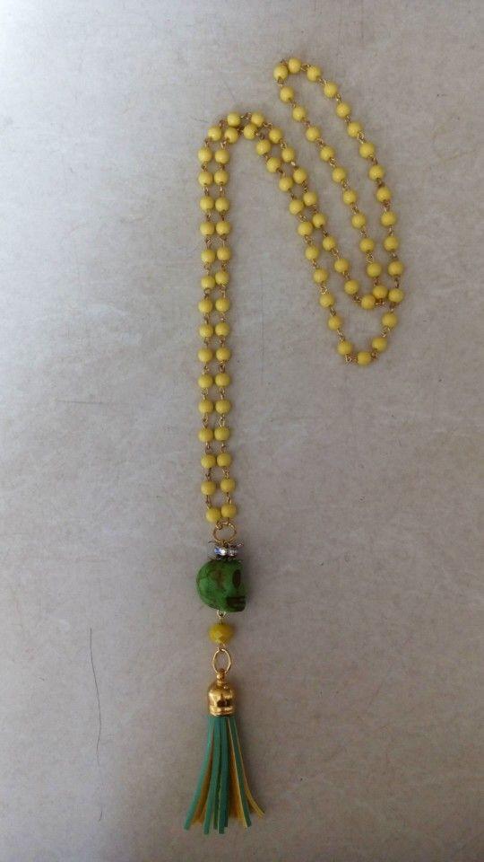 Handmade necklace designed by Elli lyraraki!! 16