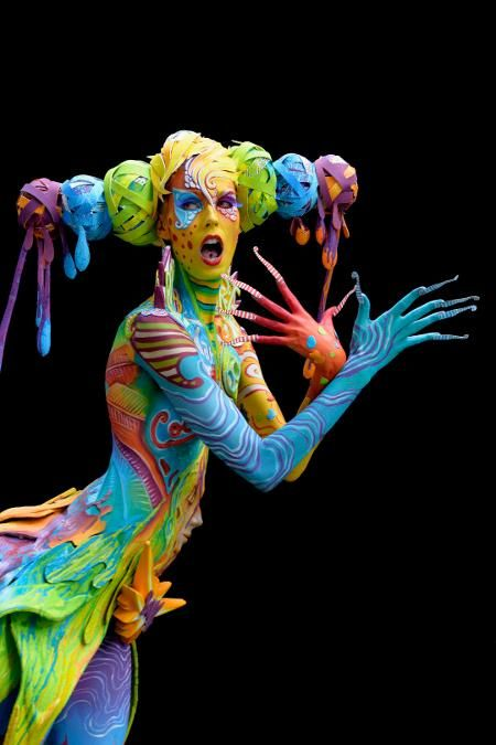The World Bodypainting Festival Turns the Human Body Into a Colorful Canvas