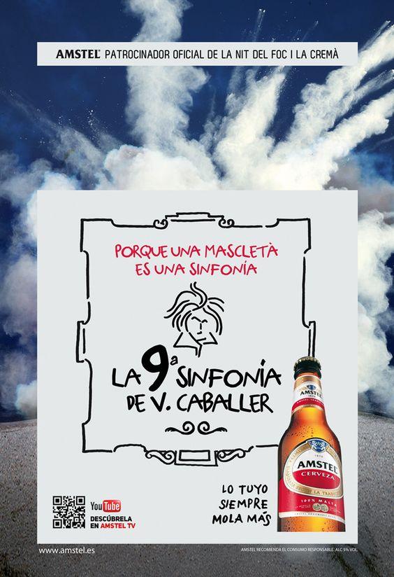 Amstel nos va a demostrar que una mascletà no es ruido