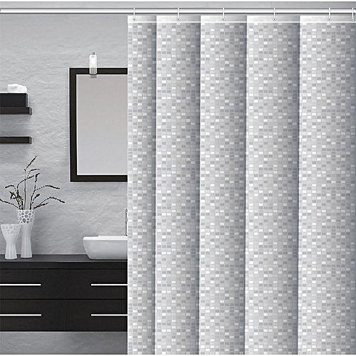 Rideau De Douche 100 Pvc Ecologique Impermeable Et Decoratif Offert 12 Anneau De Douche Shower Curtain Basic Shower Curtain Printed Shower Curtain