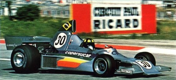 #30 Wilson Fittipaldi (Bra) - Copersucar FD03 (Ford Cosworth V8) engine (23) Copersucar-Fittipaldi
