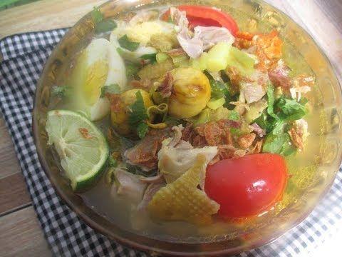Rahasia Resep Soto Ayam Kampung Lamongan Kuah Bening Enak Bumbu Asli Jawa Timur Youtube Resep Resep Makanan Makanan Dan Minuman
