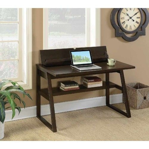 Coaster Furniture Chestnut Writing Desk With Outlet 801139