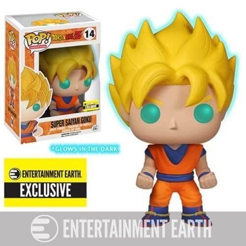 Funko Super Saiyan Goku Gitd Goku Super Saiyan Figura De Vinil Super Sayajin
