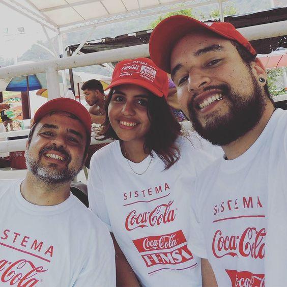 Con @gabyabisogno y @gregmarrero felices de haber ayudado en la jornada de limpieza de playas.