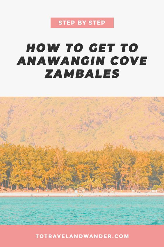 Step by Step: How To Get To Anawangin Cove in Zambales