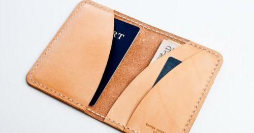 makinggoodtime:    Kenton Sorenson Modern Man Wallet