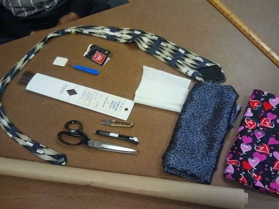 The Lost Art of Fine Tailoring - Tie Sew-Along, Part 1