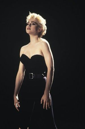 "Madonna's jumpsuit in ""Papa Don't Preach"":"