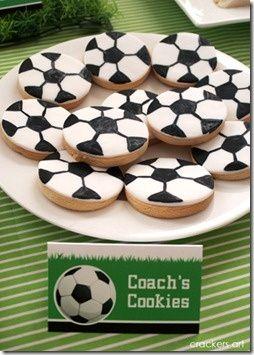 10 Soccer Themed Treats - Our Three Peas