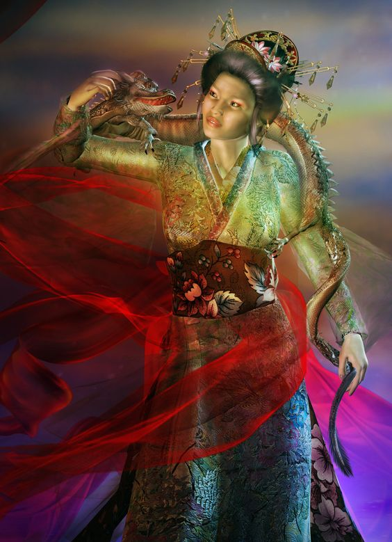 lovely dragon mistress ... art from: http://artfiles.alphacoders.com/370/37028.jpg