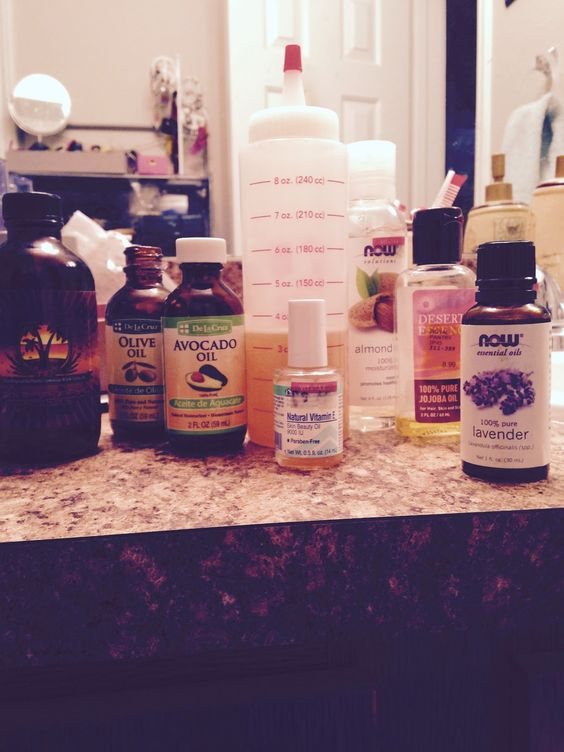 My Natural Hair Journey: Oil Mixture #oilforhair