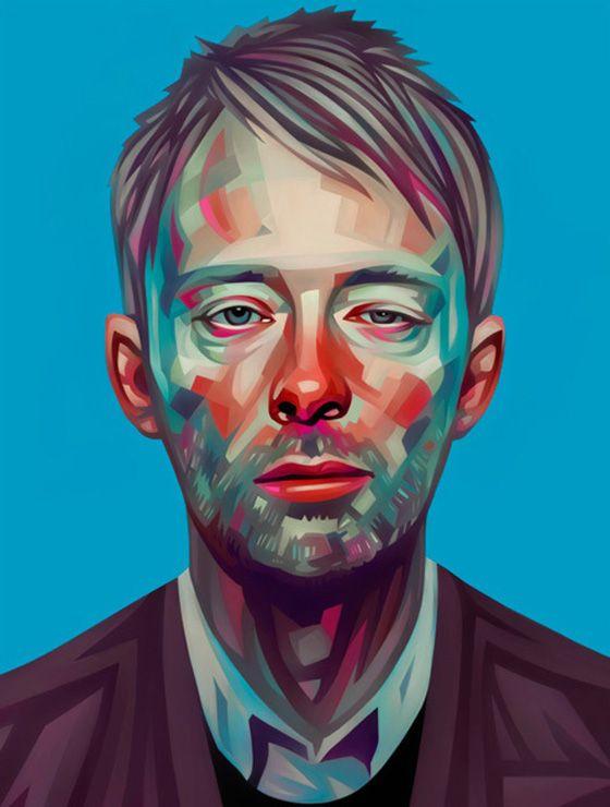 portrait illustration - Pesquisa Google