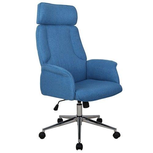 Chaise De Bureau Harry Bleu En Biais Chaise Bureau Bureau Fauteuil Bureau