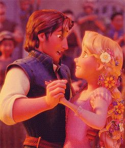 *FLYNN & RAPUNZEL ~ Tangled, 2010 Today was a fairytale: