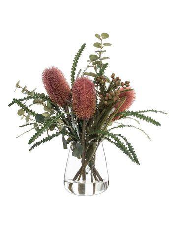 Home Decor Myer Artificial Flowers Plants In Jars Floral Arrangements Diy