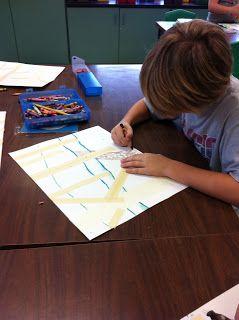 Art Room 104: 3rd Grade Fall Birch Trees